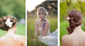 15 fryzur ślubnych dla panny młodej