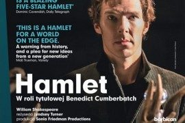 """Wygraj podwójne zaproszenie na retransmisje sztuki """"Hamlet"""" w Multikinie!"""