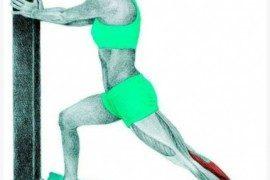 Te ilustracje pokazują, które mięśnie rozciągamy w czasie ćwiczeń