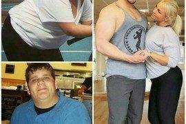 10 niesamowitych par, które wspólnie straciły na wadze