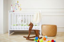 Kącik dla noworodka – piękne inspiracje na pokój dla dziecka