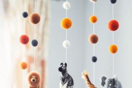 Pomysły na kreatywną zabawę z dzieckiem (proste DIY,ozdoby do pokoju)