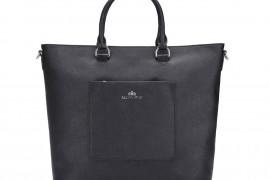 Czarna, klasyczna torebka skórzana – dodatek, który musisz mieć w szafie