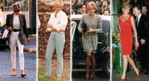 15 najlepszych stylizacji, jakie kiedykolwiek miała na sobie księżna Diana!