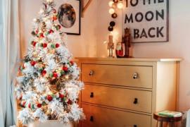 10 pomysłów na świąteczną aranżację sypialni