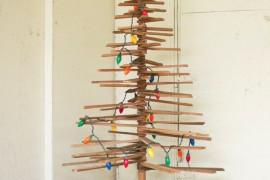 10 inspiracji na ekologiczną choinkę świąteczną!